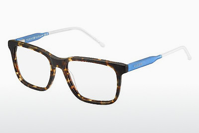 Lunettes design Tommy Hilfiger TH 1392 QRD - Brunes, Havanna