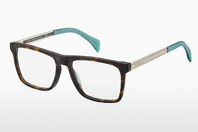 Lunettes design Tommy Hilfiger TH 1436 SFV - Or, Brunes, Havanna