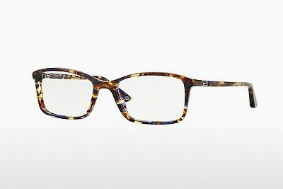 Lunettes design Versace VE3163 992 - Brunes, Havanna, Orange, Bleues