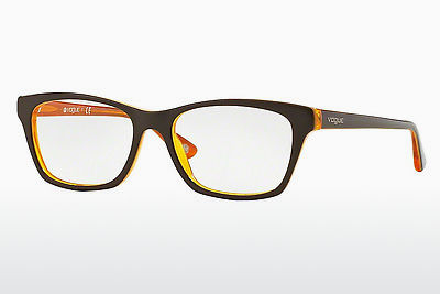 Lunettes design Vogue VO2714 2279 - Brunes, Orange