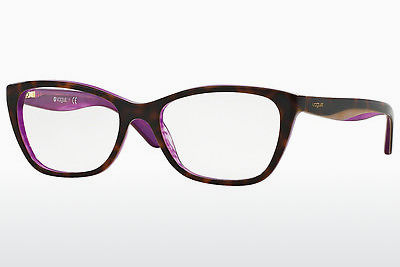 Lunettes design Vogue VO2961 2019 - Brunes, Havanna