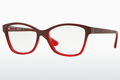 Lunettes design Vogue VO2998 2348 - Rouges, Brunes