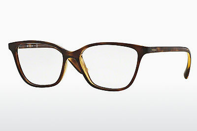 Lunettes design Vogue VO5029 W656 - Brunes, Havanna