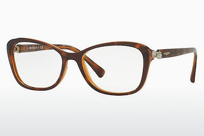 Lunettes design Vogue VO5095B 2386 - Brunes, Havanna