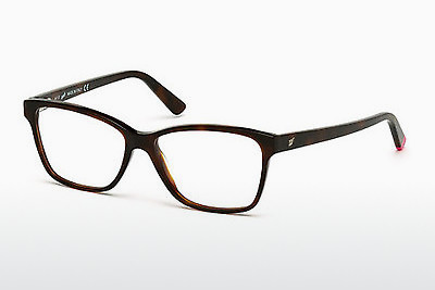 Lunettes design Web Eyewear WE5182 052 - Brunes, Dark, Havana