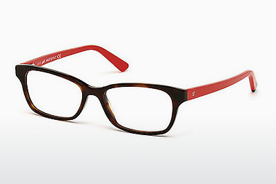 Lunettes design Web Eyewear WE5183 052 - Brunes, Dark, Havana