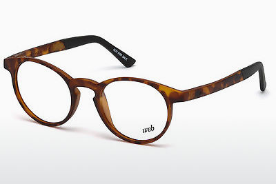Lunettes design Web Eyewear WE5186 053 - Brunes, Havanna
