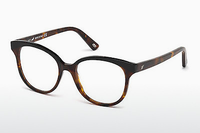 Lunettes design Web Eyewear WE5196 052 - Brunes, Dark, Havana