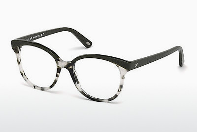 Lunettes design Web Eyewear WE5196 055 - Brunes, Havanna, Multicolores