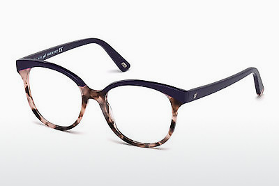 Lunettes design Web Eyewear WE5196 056 - Havanna