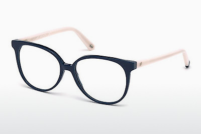 Lunettes design Web Eyewear WE5199 090 - Bleues, Shiny