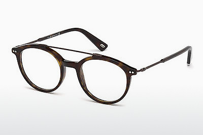 Lunettes design Web Eyewear WE5204 052 - Brunes, Havanna