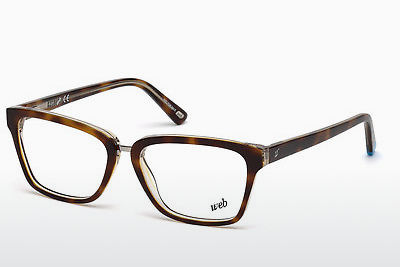 Lunettes design Web Eyewear WE5229 056 - Brunes, Havanna