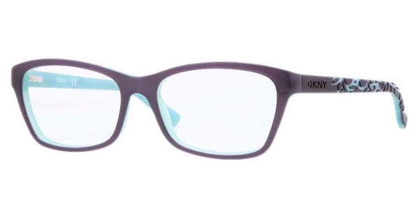 DKNY DY4649 3638 TOP VIOLET ON AQUA GREEN