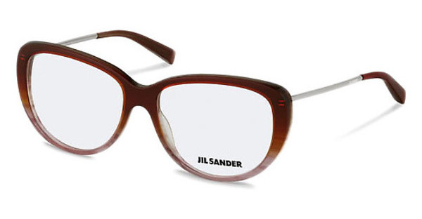 Jil Sander J4003 D Chocolate Rose Gradient