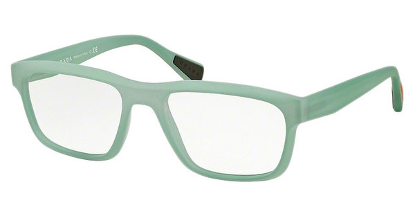 Prada Sport PS 07GV UFM1O1 LIGHT GREEN RUBBER
