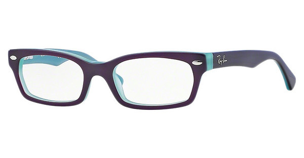 Ray-Ban Junior RY1533 3598 TOP EGGPLANT ON OPAL TURQUOISE