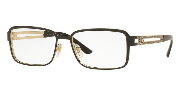Versace VE1236 1371 BLACK/PALE GOLD