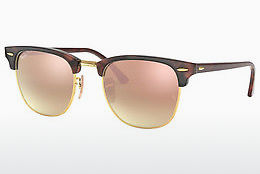 Zonnebril Ray-Ban CLUBMASTER (RB3016 990/7O) - Bruin, Havanna