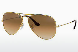 Lunettes de soleil Ray-Ban AVIATOR LARGE METAL (RB3025 001/51) - Or