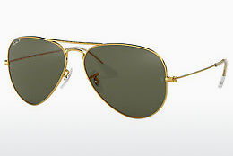 Lunettes de soleil Ray-Ban AVIATOR LARGE METAL (RB3025 001/58) - Or