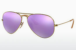 Lunettes de soleil Ray-Ban AVIATOR LARGE METAL (RB3025 167/1R) - Brunes