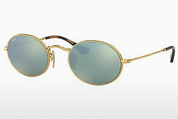 Zonnebril Ray-Ban Oval (RB3547N 001/30) - Goud