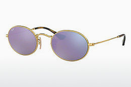 Zonnebril Ray-Ban Oval (RB3547N 001/8O) - Goud