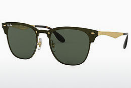 Zonnebril Ray-Ban Blaze Clubmaster (RB3576N 043/71) - Goud