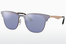 Zonnebril Ray-Ban Blaze Clubmaster (RB3576N 90391U) - Blauw, Bruin