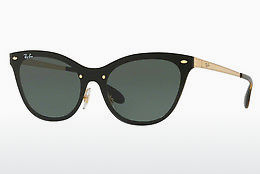Lunettes de soleil Ray-Ban Blaze Cat Eye (RB3580N 043/71) - Or