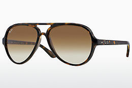 Zonnebril Ray-Ban CATS 5000 (RB4125 710/51) - Bruin, Havanna