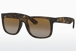 Zonnebril Ray-Ban JUSTIN (RB4165 865/T5) - Bruin, Havanna