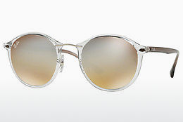 Zonnebril Ray-Ban Round Ii Light Ray (RB4242 6290B8) - Doorzichtig