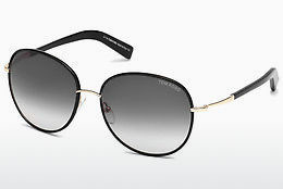 Zonnebril Tom Ford Georgia (FT0498 01B) - Zwart, Shiny