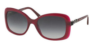 Bvlgari BV8144B 53338G GREY GRADIENTTRANSPARENT RED