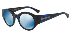 Emporio Armani EA4044 543155 DARK BLUE MIRROR BLUEHAVANA BLUE