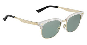 Gucci GG 2273/S U29/5L GREY GREENMOTHPRLGD (GREY GREEN)