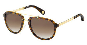 Marc Jacobs MJ 515/S 0OU/LA BROWN SF PZYLLGD HVN (BROWN SF PZ)