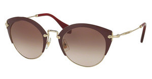 Miu Miu MU 53RS UA50A6 BROWN GRADIENTAMARANTH/PALE GOLD