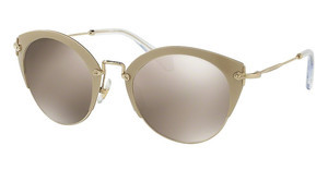 Miu Miu MU 53RS VAF1C0 LIGHT BROWN MIRROR GOLDSAND PALE GOLD