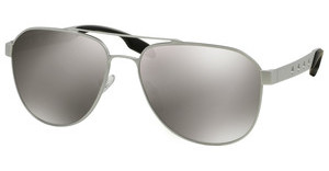 Prada PR 51RS TKH1I2 LIGHT GREY MIRROR SILVERALLUMINIUM