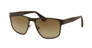 Prada PR 55SS LAH1X1 BROWN GRADIENTMATTE BROWN