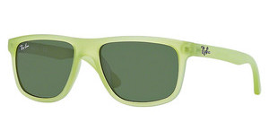Ray-Ban Junior RJ9057S 198/71 GREENACID GREEN DEMISHINY