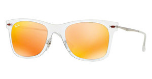 Ray-Ban RB4210 646/6Q BROWN MIRROR ORANGEMATTE TRANSPARENT