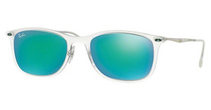 Ray-Ban RB4225 646/3R GREEN MIRROR GREENMATTE TRANSPARENT