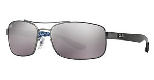 Ray-Ban RB8316 029/N8 GREY MIRROR GRADIENT GREYPOLARMATTE GUNMETAL