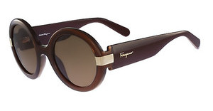 Salvatore Ferragamo SF778S 210 BROWN