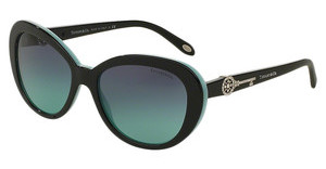 Tiffany TF4118B 80559S AZURE GRADIENT BLUEBLACK/BLUE