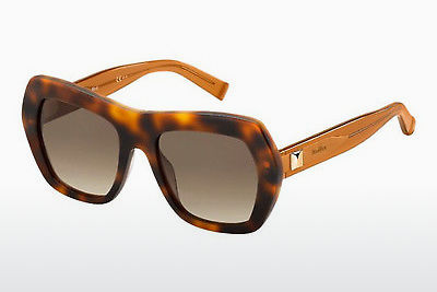 Lunettes de soleil Max Mara MM PRISM III 6ZA/JD - Orange, Brunes, Havanna